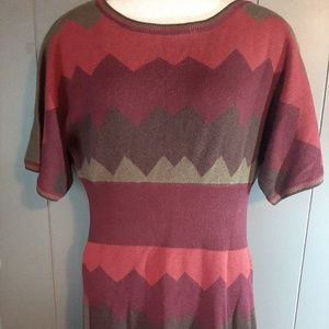 Womens Dressbarn sweater dress size medium